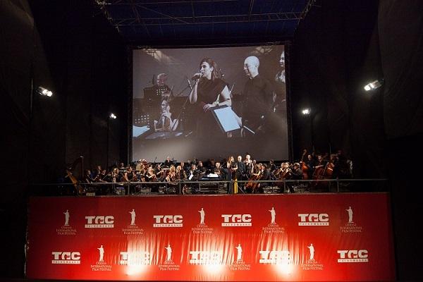 Картинка: 7 кинофестиваль, экран